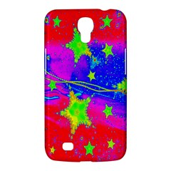 Red Background With A Stars Samsung Galaxy Mega 6 3  I9200 Hardshell Case
