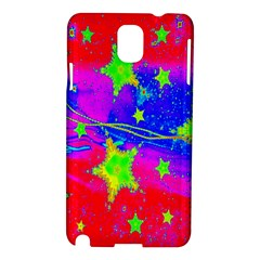 Red Background With A Stars Samsung Galaxy Note 3 N9005 Hardshell Case