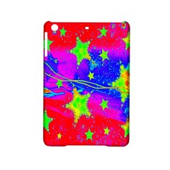 Red Background With A Stars Ipad Mini 2 Hardshell Cases