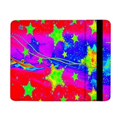 Red Background With A Stars Samsung Galaxy Tab Pro 8 4  Flip Case