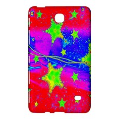 Red Background With A Stars Samsung Galaxy Tab 4 (7 ) Hardshell Case