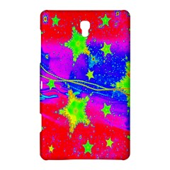 Red Background With A Stars Samsung Galaxy Tab S (8 4 ) Hardshell Case