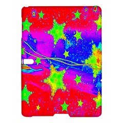 Red Background With A Stars Samsung Galaxy Tab S (10.5 ) Hardshell Case