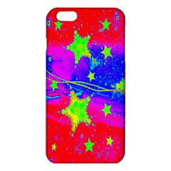 Red Background With A Stars Iphone 6 Plus/6s Plus Tpu Case