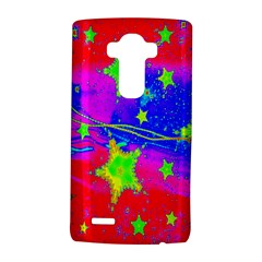 Red Background With A Stars LG G4 Hardshell Case