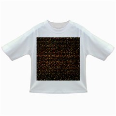Colorful And Glowing Pixelated Pattern Infant/Toddler T-Shirts