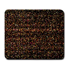 Colorful And Glowing Pixelated Pattern Large Mousepads