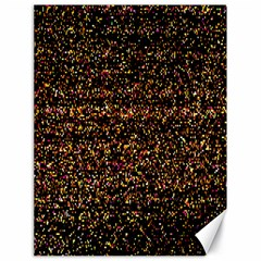 Colorful And Glowing Pixelated Pattern Canvas 18  X 24