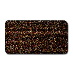 Colorful And Glowing Pixelated Pattern Medium Bar Mats