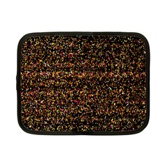 Colorful And Glowing Pixelated Pattern Netbook Case (small)