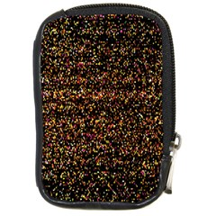 Colorful And Glowing Pixelated Pattern Compact Camera Cases