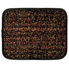 Colorful And Glowing Pixelated Pattern Netbook Case (xxl)