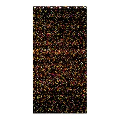 Colorful And Glowing Pixelated Pattern Shower Curtain 36  X 72  (stall)