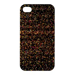 Colorful And Glowing Pixelated Pattern Apple iPhone 4/4S Hardshell Case
