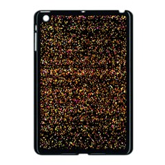 Colorful And Glowing Pixelated Pattern Apple Ipad Mini Case (black)