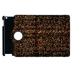 Colorful And Glowing Pixelated Pattern Apple Ipad 3/4 Flip 360 Case