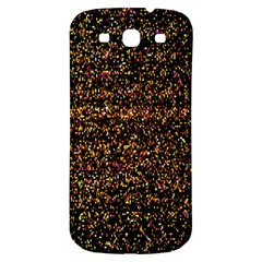 Colorful And Glowing Pixelated Pattern Samsung Galaxy S3 S III Classic Hardshell Back Case