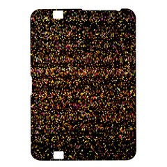 Colorful And Glowing Pixelated Pattern Kindle Fire Hd 8 9