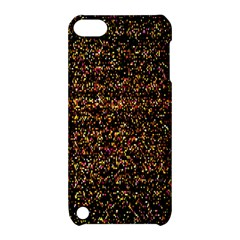 Colorful And Glowing Pixelated Pattern Apple Ipod Touch 5 Hardshell Case With Stand