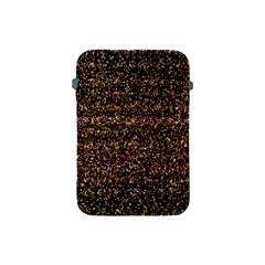 Colorful And Glowing Pixelated Pattern Apple iPad Mini Protective Soft Cases