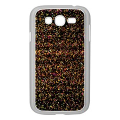 Colorful And Glowing Pixelated Pattern Samsung Galaxy Grand Duos I9082 Case (white)