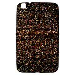 Colorful And Glowing Pixelated Pattern Samsung Galaxy Tab 3 (8 ) T3100 Hardshell Case