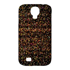 Colorful And Glowing Pixelated Pattern Samsung Galaxy S4 Classic Hardshell Case (pc+silicone)