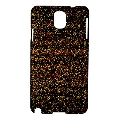 Colorful And Glowing Pixelated Pattern Samsung Galaxy Note 3 N9005 Hardshell Case