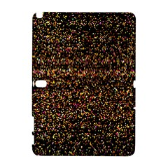 Colorful And Glowing Pixelated Pattern Galaxy Note 1