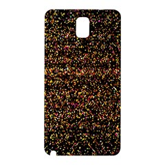 Colorful And Glowing Pixelated Pattern Samsung Galaxy Note 3 N9005 Hardshell Back Case