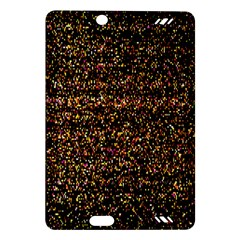 Colorful And Glowing Pixelated Pattern Amazon Kindle Fire Hd (2013) Hardshell Case