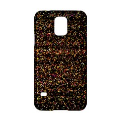 Colorful And Glowing Pixelated Pattern Samsung Galaxy S5 Hardshell Case