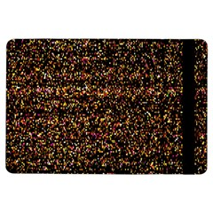 Colorful And Glowing Pixelated Pattern Ipad Air Flip