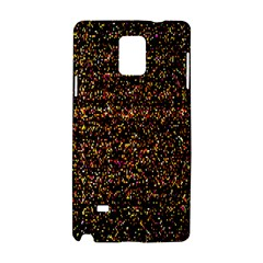 Colorful And Glowing Pixelated Pattern Samsung Galaxy Note 4 Hardshell Case