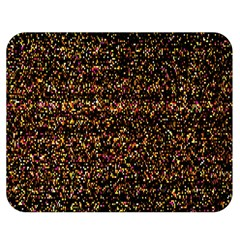 Colorful And Glowing Pixelated Pattern Double Sided Flano Blanket (medium)