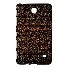 Colorful And Glowing Pixelated Pattern Samsung Galaxy Tab 4 (8 ) Hardshell Case