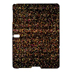 Colorful And Glowing Pixelated Pattern Samsung Galaxy Tab S (10 5 ) Hardshell Case