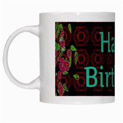 Happy Birthday To You! White Mugs