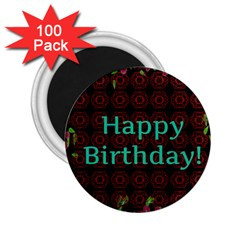 Happy Birthday To You! 2 25  Magnets (100 Pack)