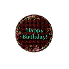 Happy Birthday To You! Hat Clip Ball Marker