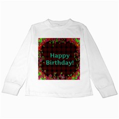 Happy Birthday To You! Kids Long Sleeve T Shirts