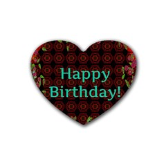 Happy Birthday To You! Heart Coaster (4 Pack)