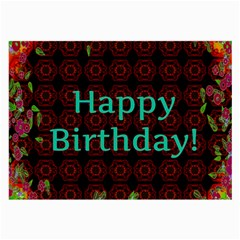 Happy Birthday To You! Large Glasses Cloth (2 Side)