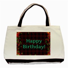 Happy Birthday To You! Basic Tote Bag (two Sides)