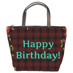 Happy Birthday To You! Bucket Bags