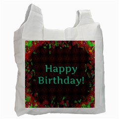 Happy Birthday To You! Recycle Bag (two Side)