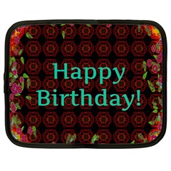Happy Birthday To You! Netbook Case (xxl)
