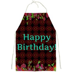 Happy Birthday To You! Full Print Aprons