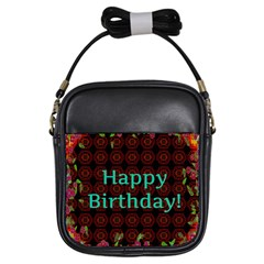 Happy Birthday To You! Girls Sling Bags
