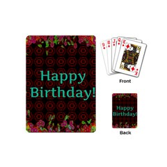 Happy Birthday To You! Playing Cards (mini)